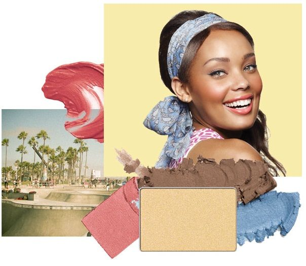 Get the Coastal Glamour look with Stonewashed Limited-Edition† Mary Kay® Springy Eye Duo and Gold Coast Mineral Eye Color, Jet Black Gel Eyeliner, Ultimate Mascara™, Citrus Bloom Mineral Cheek Color, Carefree Coral Limited-Edition† Mary Kay® Creamy Lip Color, and Lemon Parfait Limited-Edition† Mary Kay® Nail Lacquer. #HelloSunshine