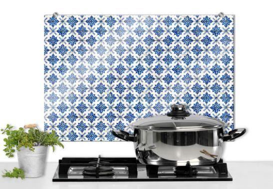 Kitchen Splashbacks - Dutch Tiles 04 - Kitchen Splashback