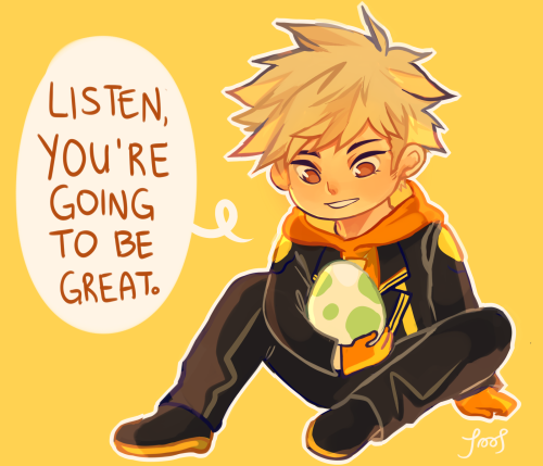you can be a hero, spark says this to each and every one of his...