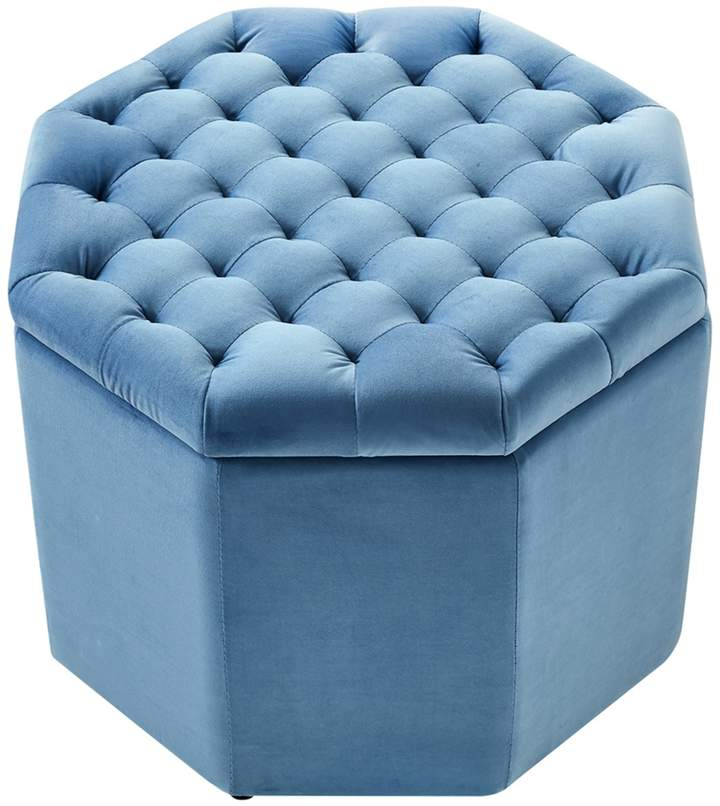 Incredible Inspired Home Light Blue Gabriella Velvet Upholstered Tufted Machost Co Dining Chair Design Ideas Machostcouk