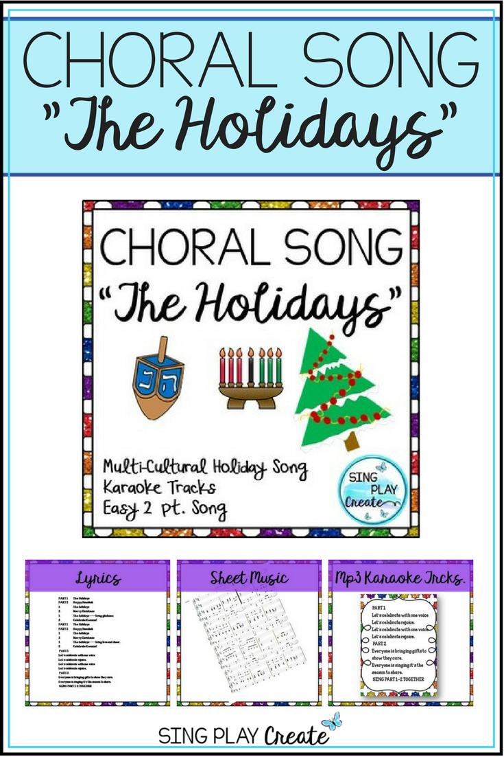 Holiday Choral Song: \