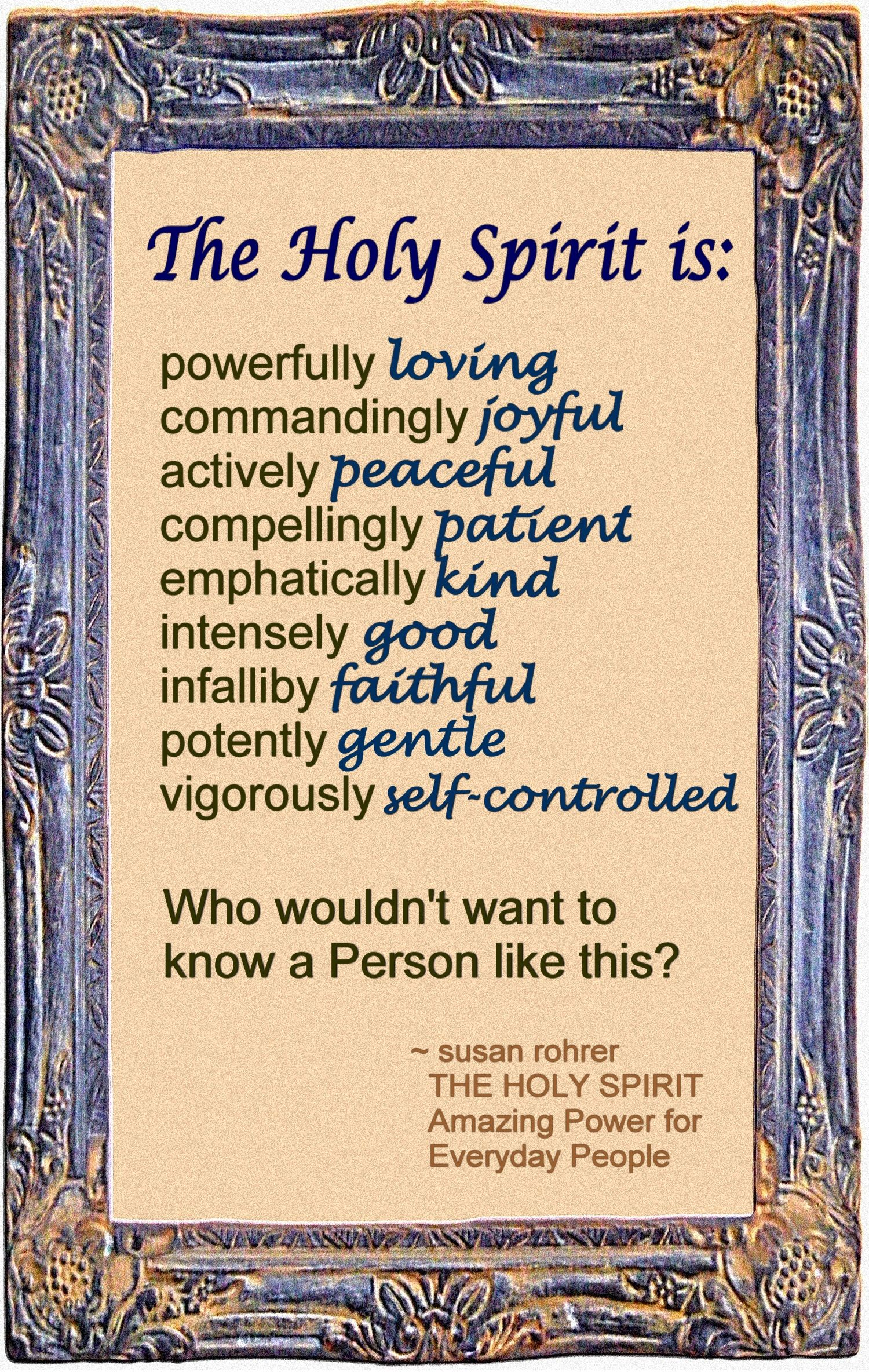 THE HOLY SPIRIT - Bible Study Courses