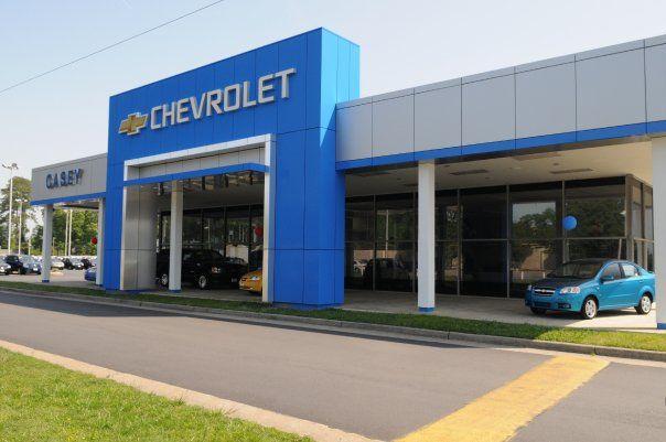 Casey Chevrolet Dealership New Building Chevrolet Dealership Chevrolet Dealership
