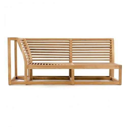 Maya Teak Outdoor Sectional Sofa   Westminster Teak Outdoor Furniture