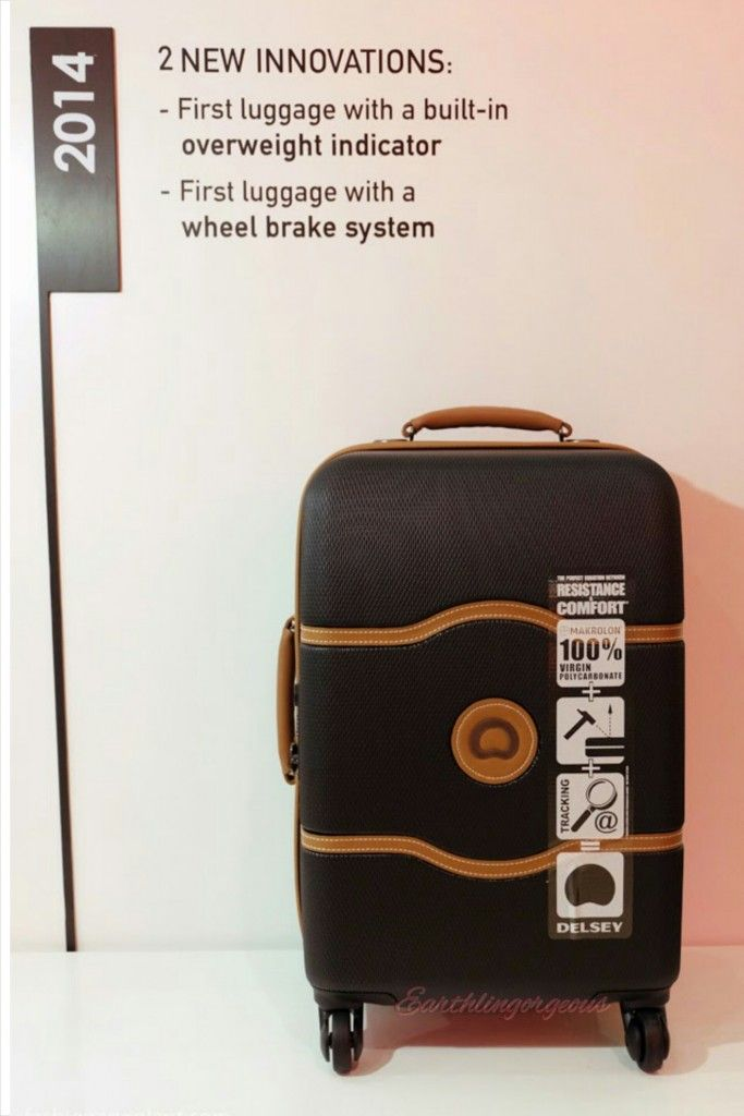 Top 6 Reasons to Pick the New Delsey Luggage vs. Other Luggages -  Earthlingorgeous 73fdc3e606970