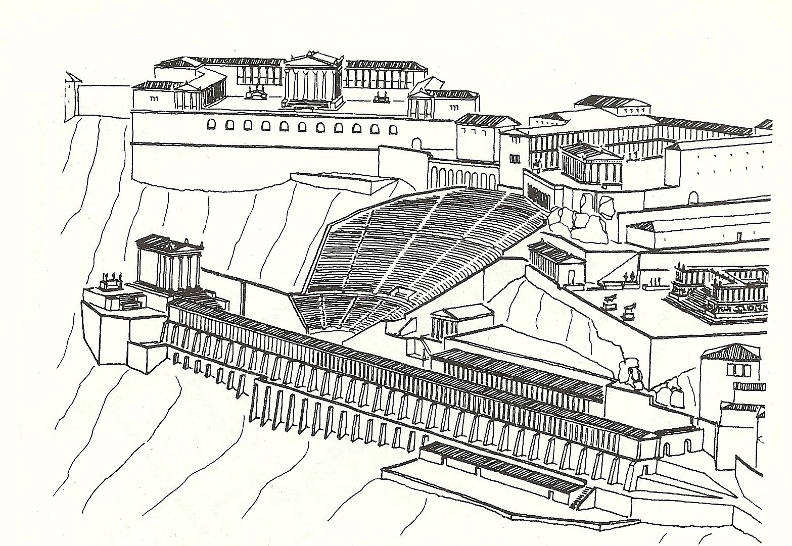 Image result for plan of pergamon