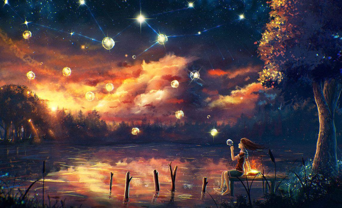 Landscape 31 By Sylar113 On Deviantart Animation Art Art Digital Painting 31 anime landscape wallpaper