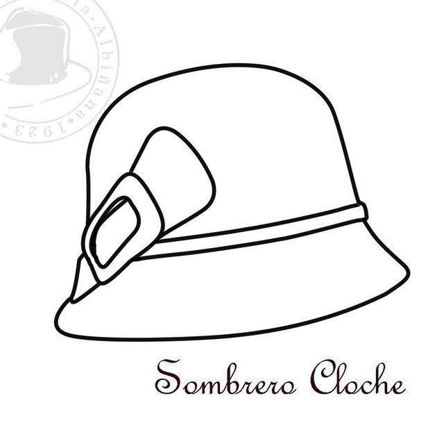 Sombreros para Colorear – II | KEÇE | Pinterest | Embroidery ...