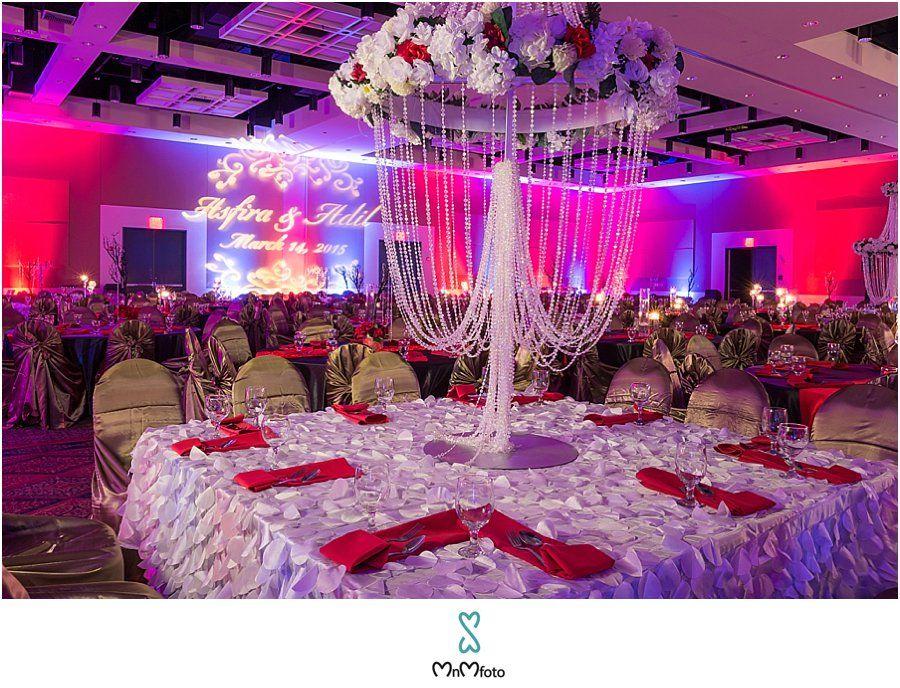 Houston Ismaili Wedding Reception Stafford Civic Center Decor