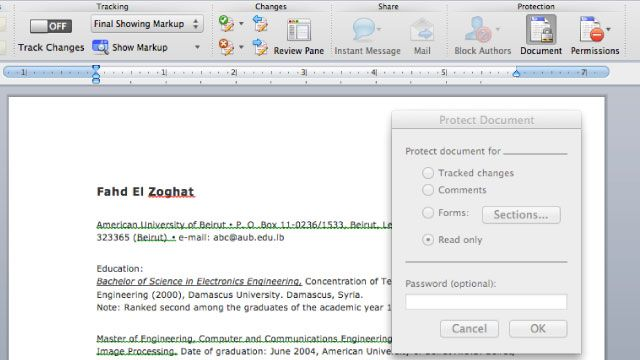 Make Your Resume and Other Word Documents More Presentable by - making resume in word