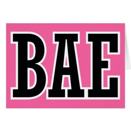 BAE Boyfriend or Girlfriend Valentines Day | Kids Card
