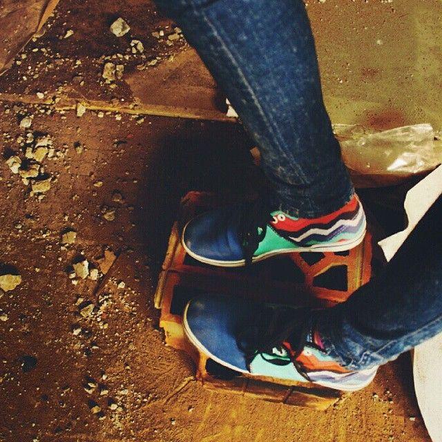 Footsteps #vans