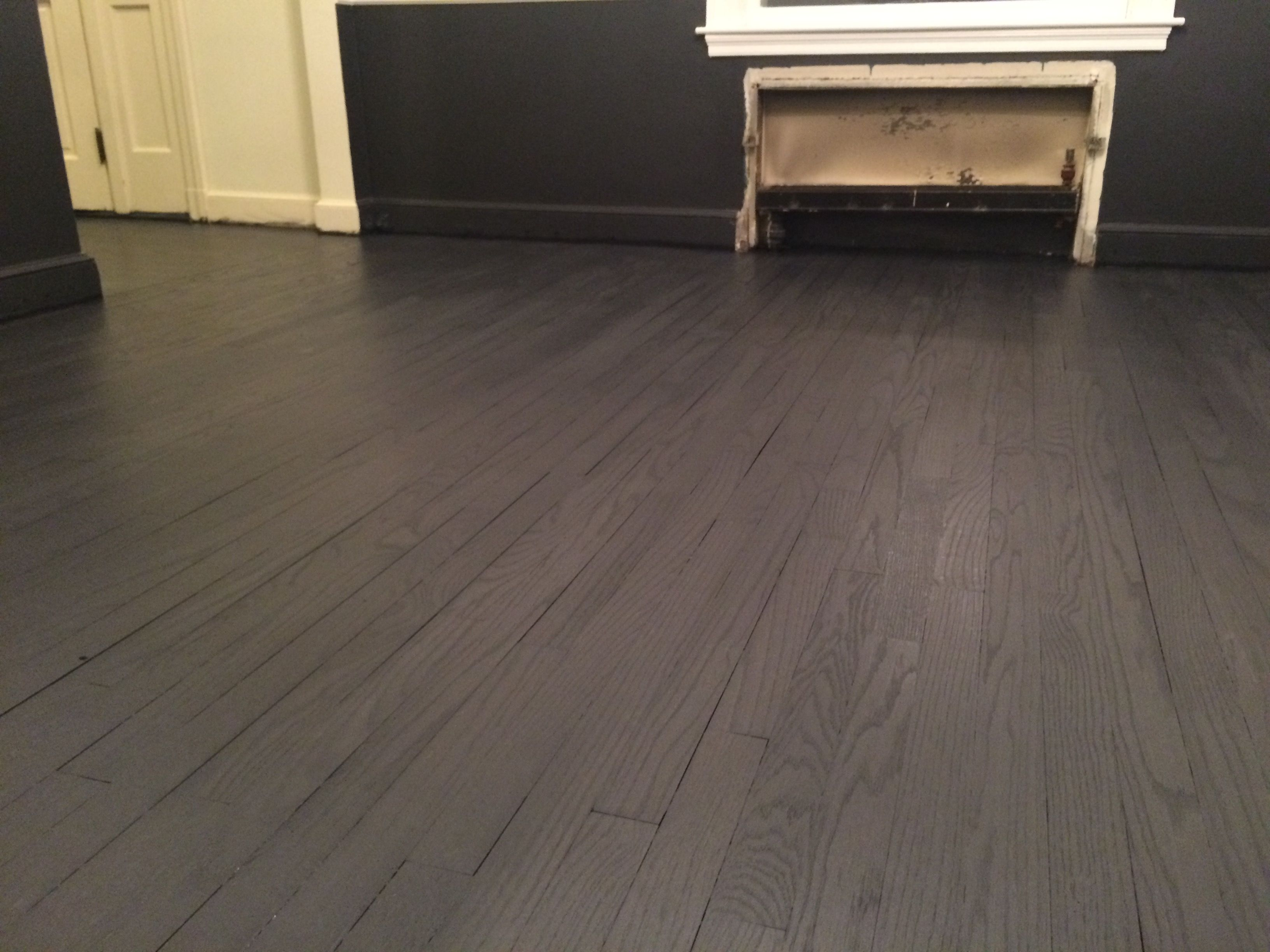 Want The Modern Dark Grey Hardwood Floor Finish. Try This Combination. Pre  Color