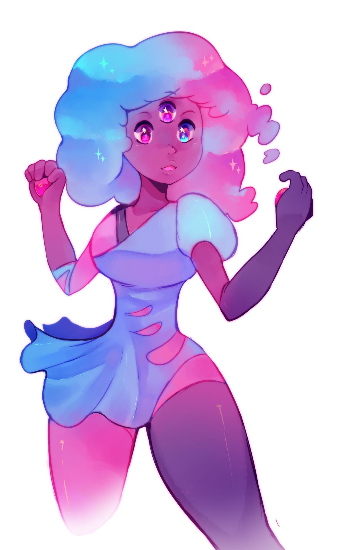 Steven universe. Cotton candy! Steven Universe