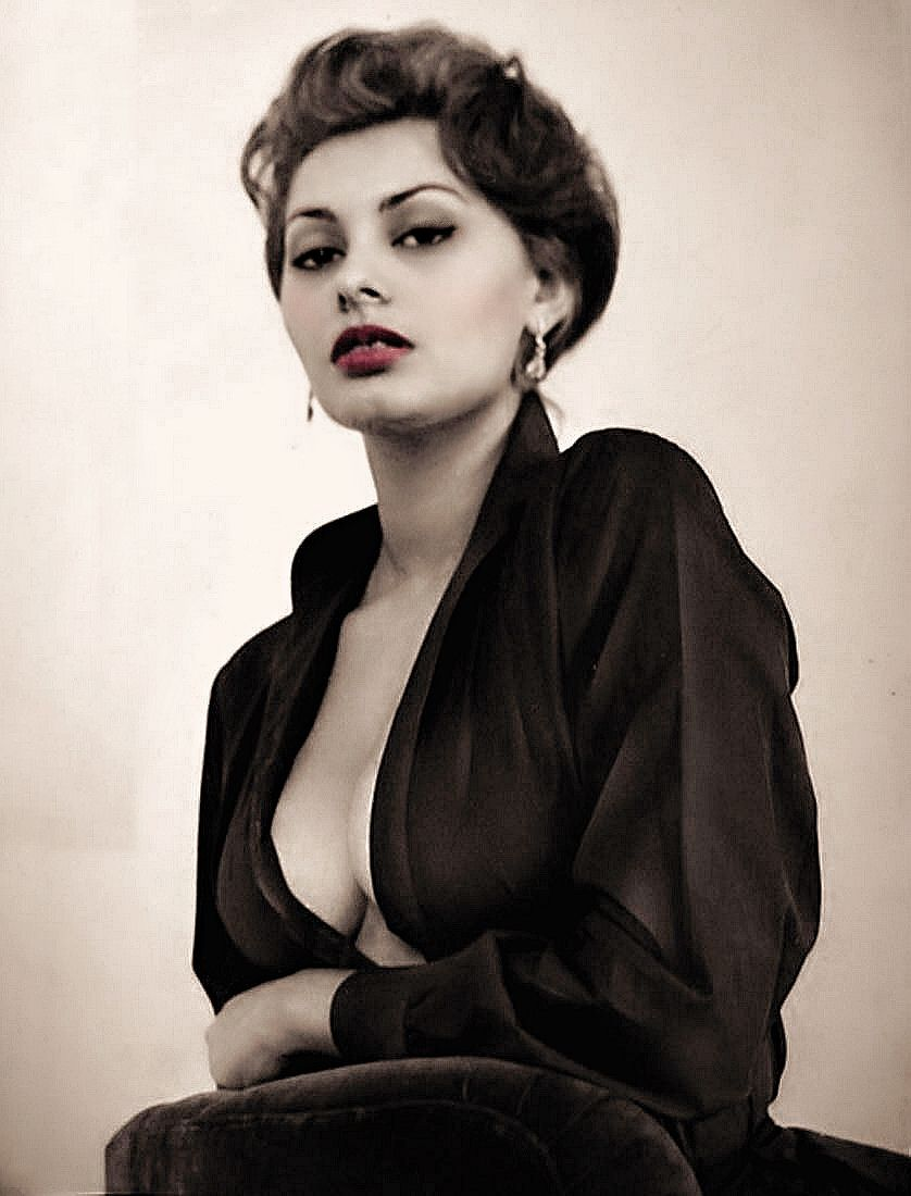 Resultado de imagen de sophia loren nude | Monroe