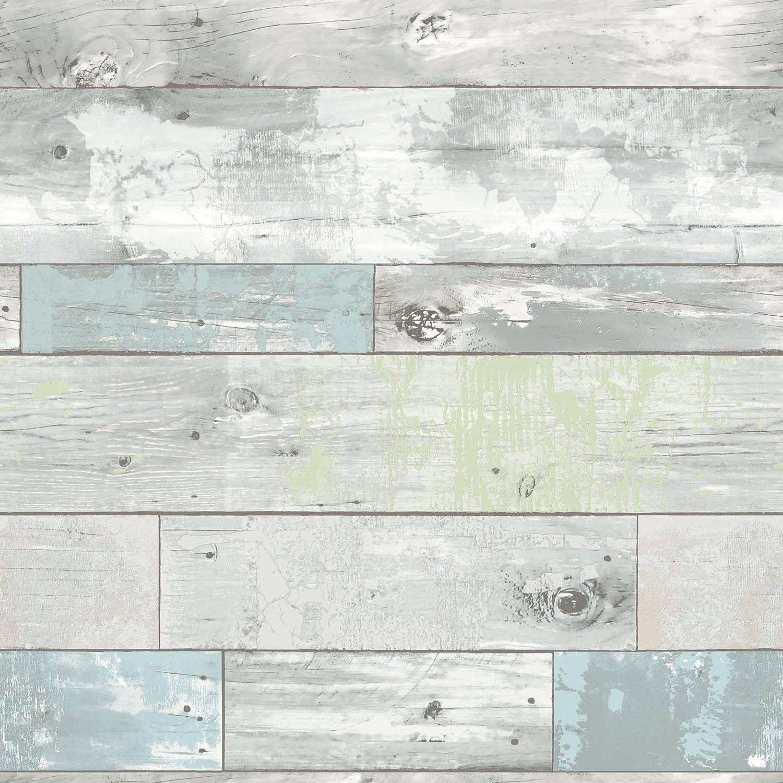 Nuwallpaper Beachwood Peel Stick Wallpaper Walmart Com In 2021 Nuwallpaper Vinyl Wallpaper Peel And Stick Wallpaper