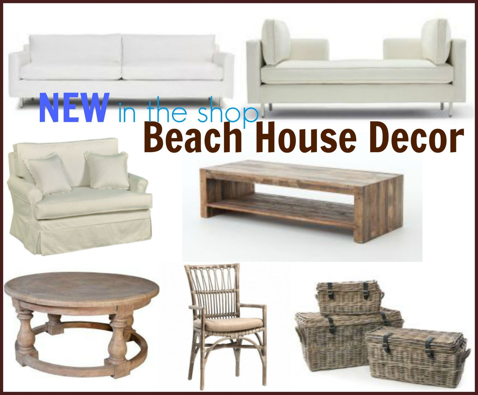 New Beach House Decor For Your Salt Life At Our Boat House