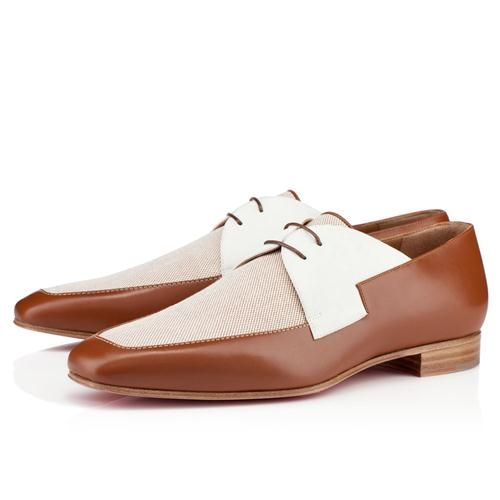 louboutin Oxford marrone
