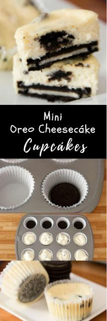 8 desserts Oreo cheesecake ideas