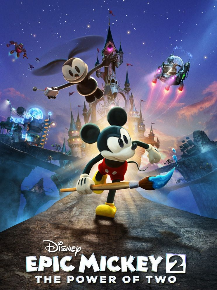 Image result for epic mickey 2 the power of two