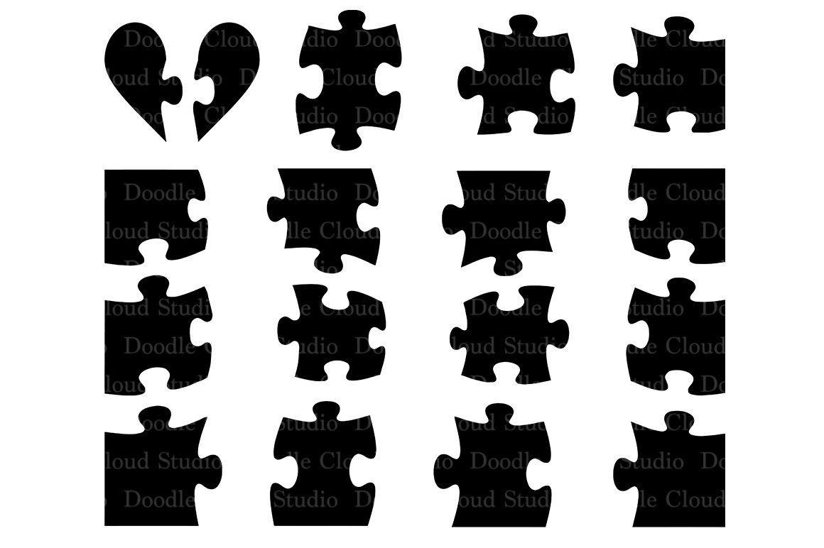 Jigsaw Puzzle SVG, puzzle piece svg Puzzle design