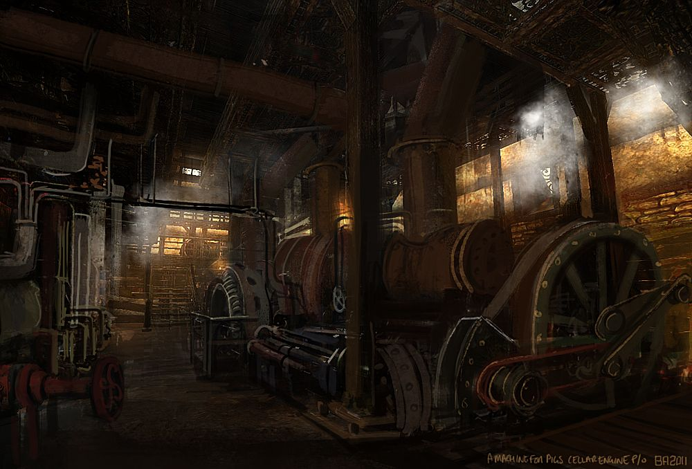 Amnesia A Machine For Pigs With Images Steampunk City