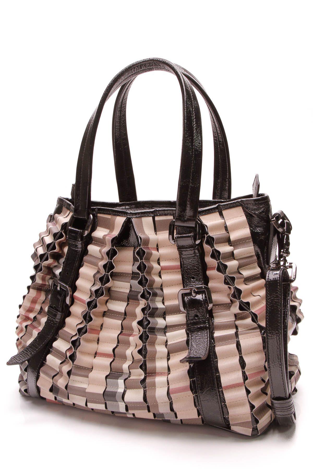 6dbdd2c99 Burberry Lowry Ruffled Large Tote Bag - Nova Check | In The Bag ...