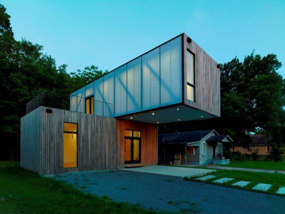 Award winning cantilever google search hotel facade for Casa moderna zwolle