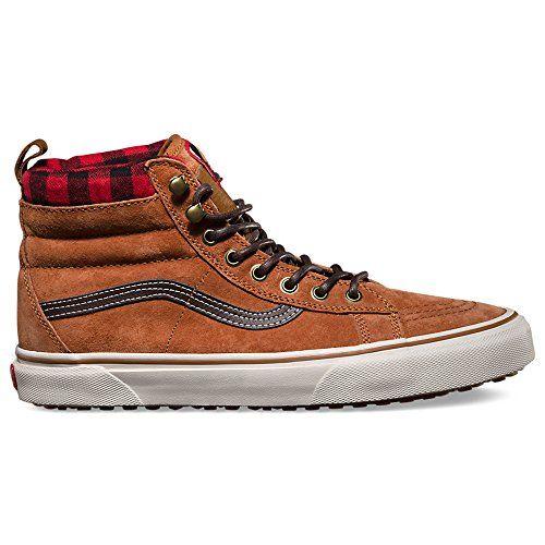 b9097dfdacaa33 Vans Unisex Sk8-Hi MTE (MTE) Glazed Ginger Skate Shoe 10 Men US   11.5  Women US