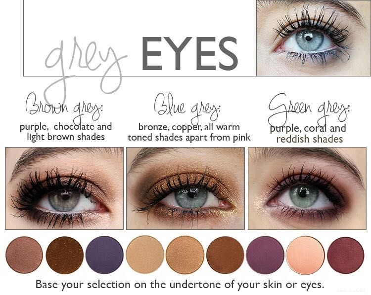 Best Eyeshadows For Grey Eyes