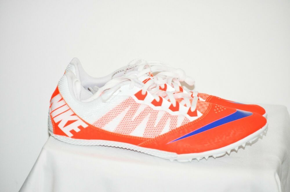 reputable site f7047 78bd0 Nike Zoom Rival S 7 Orange Blue Track Sprint Spikes Men s size 13 NEW  Nike   TrackSpikes