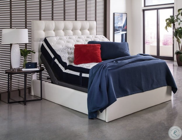 Montclair White King Adjustable Bed from Coaster Coleman