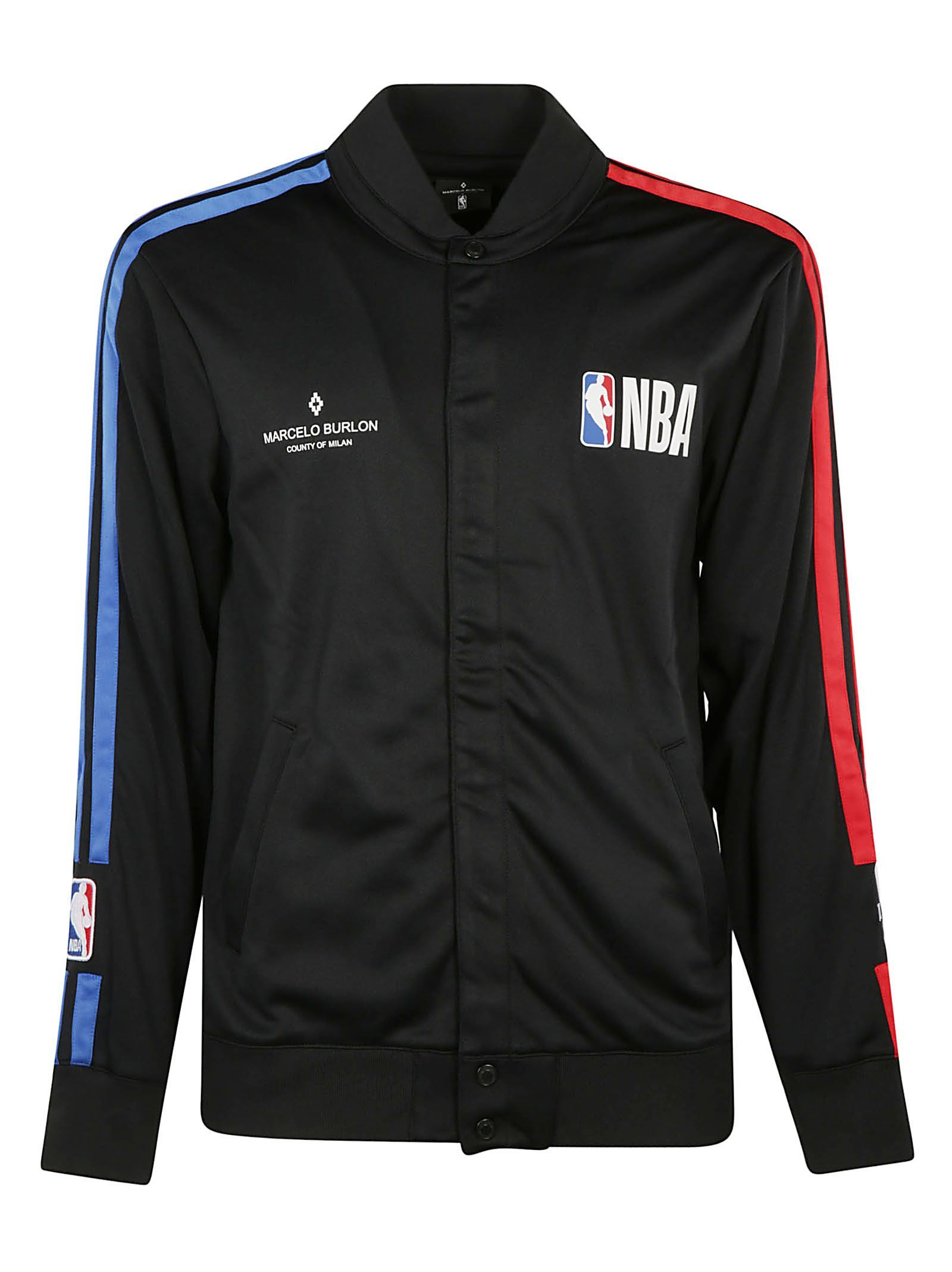 promo code 4c051 43077 MARCELO BURLON COUNTY OF MILAN NBA JACKET.  marceloburloncountyofmilan   cloth