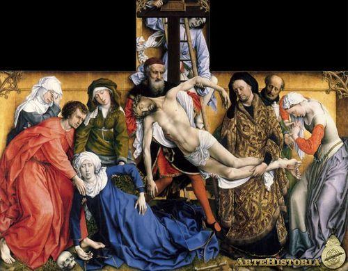 El Descendimiento De La Cruz Museo Nacional Del Prado Museo De El Prado Pintura Flamenca