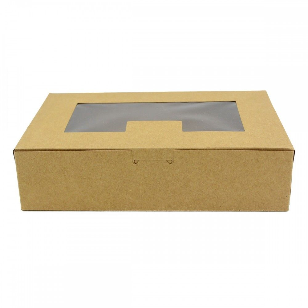 علب كرتونية نافذة شفافة غطاء متصل الطول 20 سم العرض 13 سم الارتفاع 5 سم متوفرة لدى موقع صفقات موقع متخصص بأدوات ومستل Container Takeout Container Box