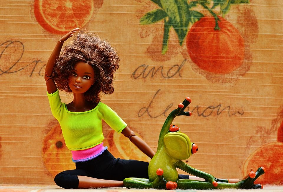 Free Image on Pixabay Barbie, Frog, Gymnastics, Sport