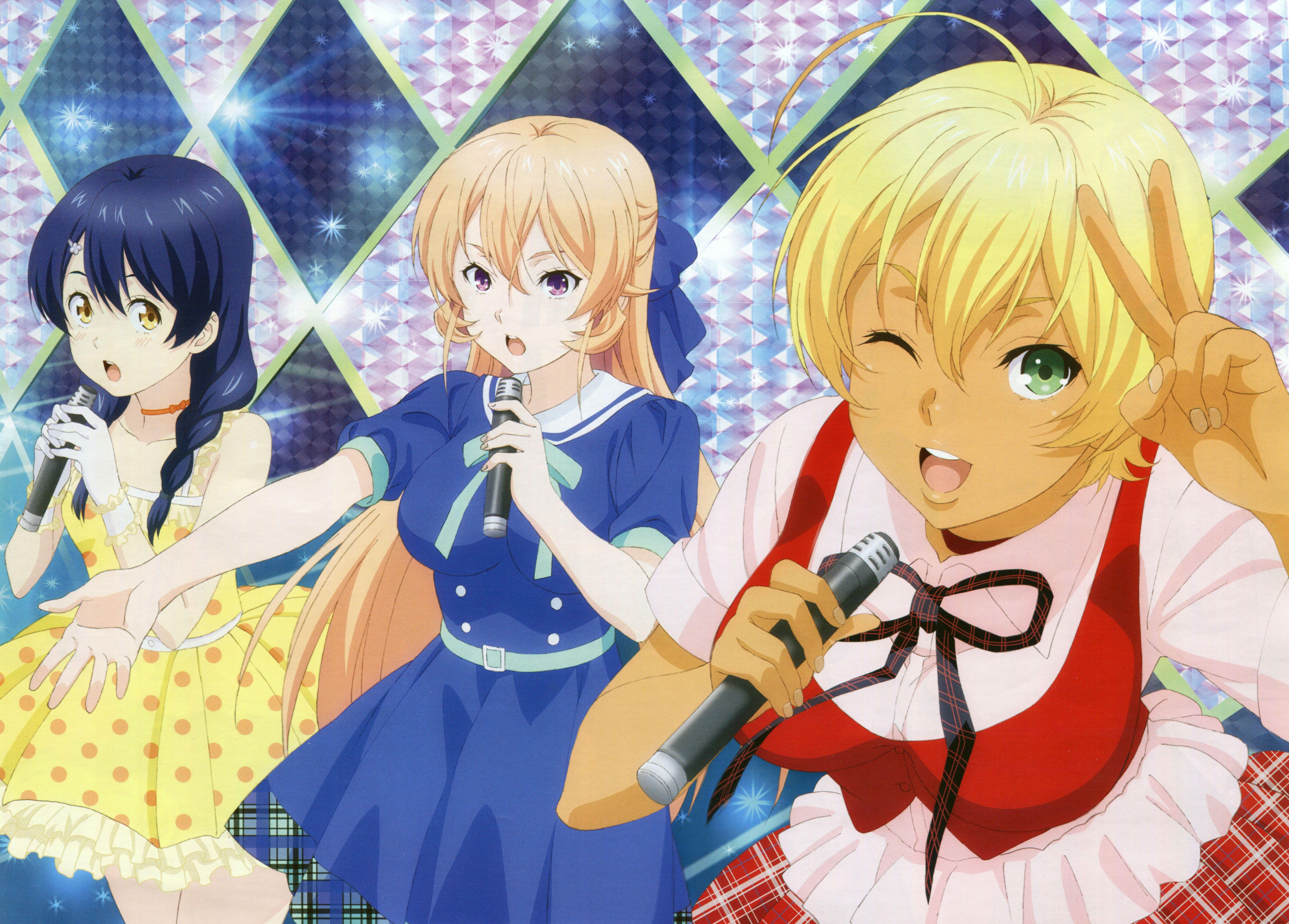 Shokugeki No Soma// Tadokoro Megumi, Nikumi Mito And Erina