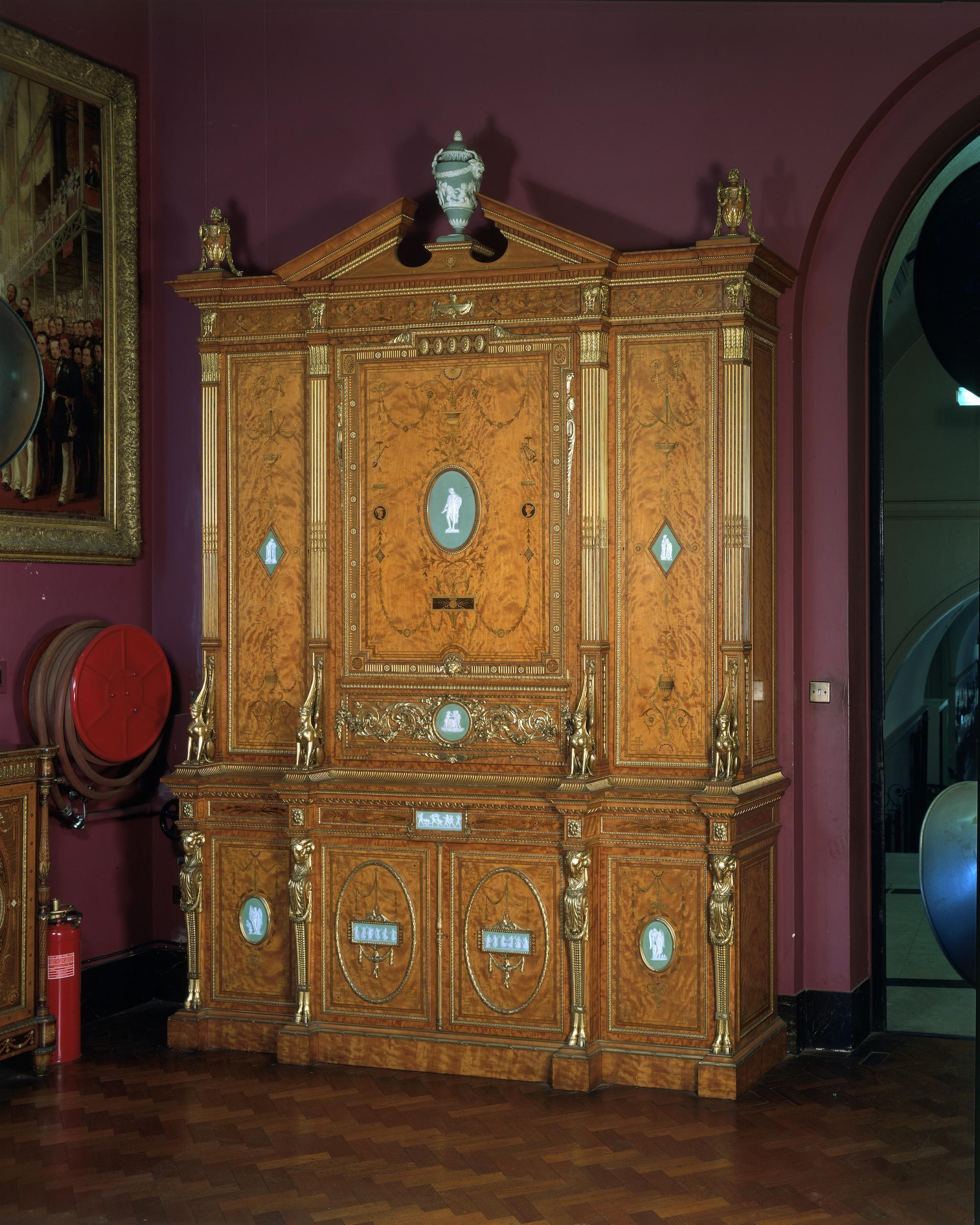 Cabinet Crosse (Mr) (designer) Wright And Mansfield (makers)   Regency  Furniture   Pinterest   Regency Furniture And Regency