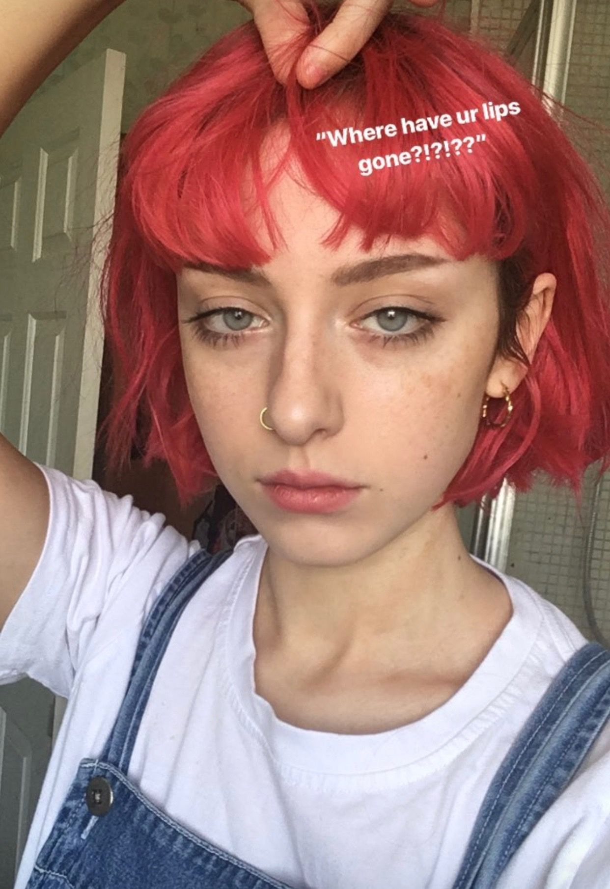 Pinterest P A R A D O X X Peach Hair Aesthetic Hair Short Hair Styles