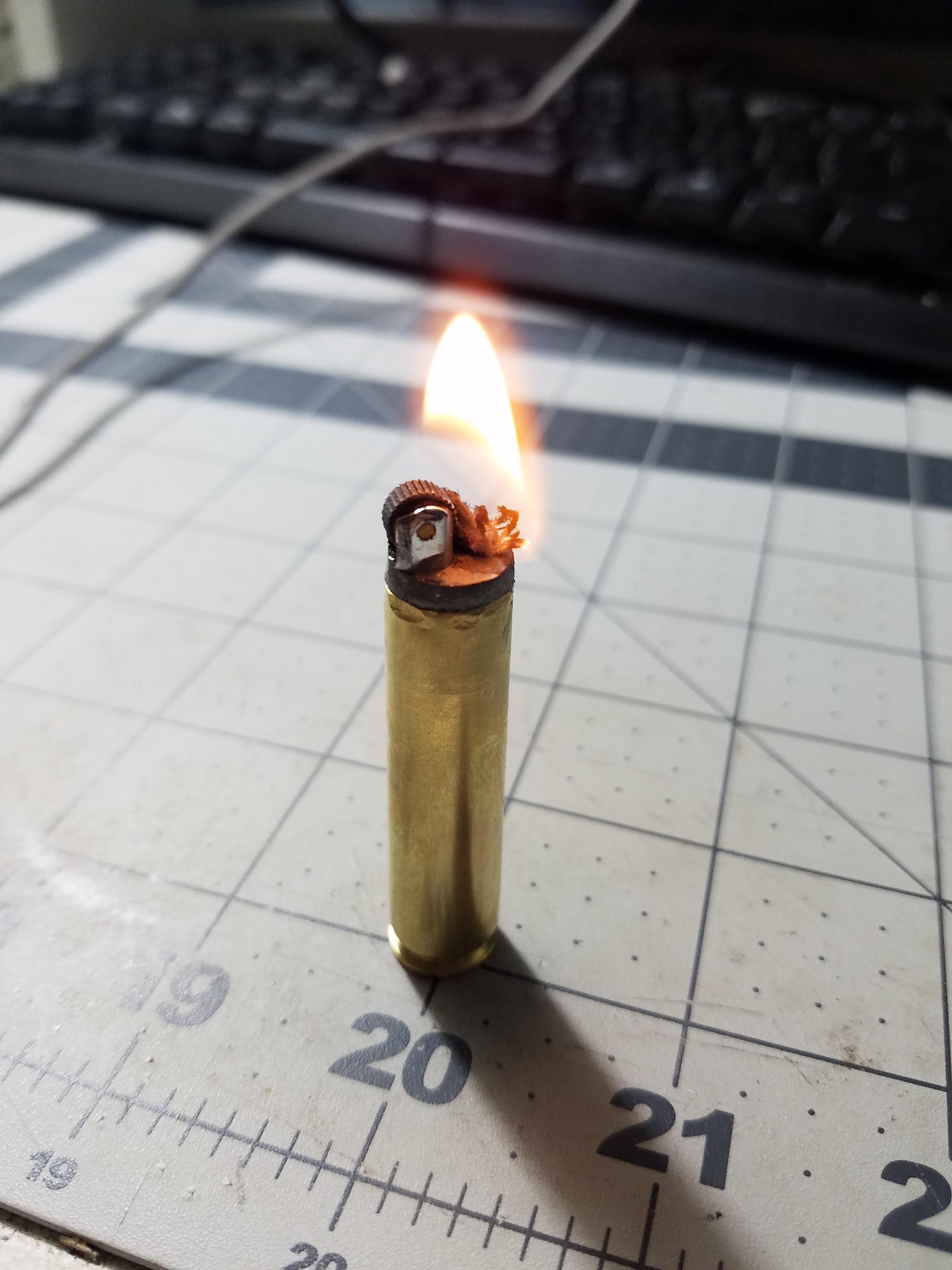 Diy bullet lighter quickcrafter bullet casing crafts