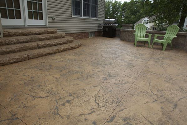 Stamped Concrete Patios Pictures