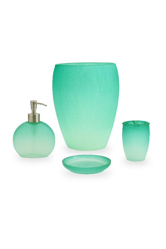 Bathroom accessories aqua bathroom accessories aqua blue for Turquoise blue bathroom accessories