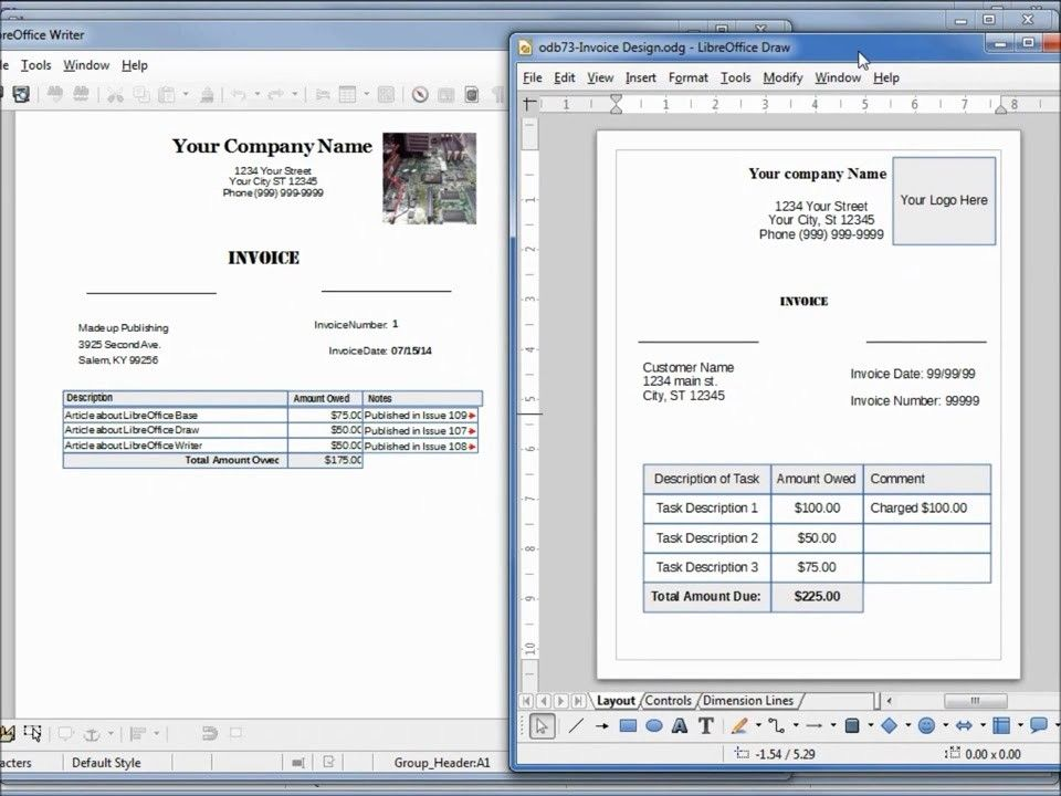 Libreoffice Calc Invoice Template I Will Tell You The Truth About Libreoffice Calc Invoice Invoice Template Invoice Design Study Plan Template