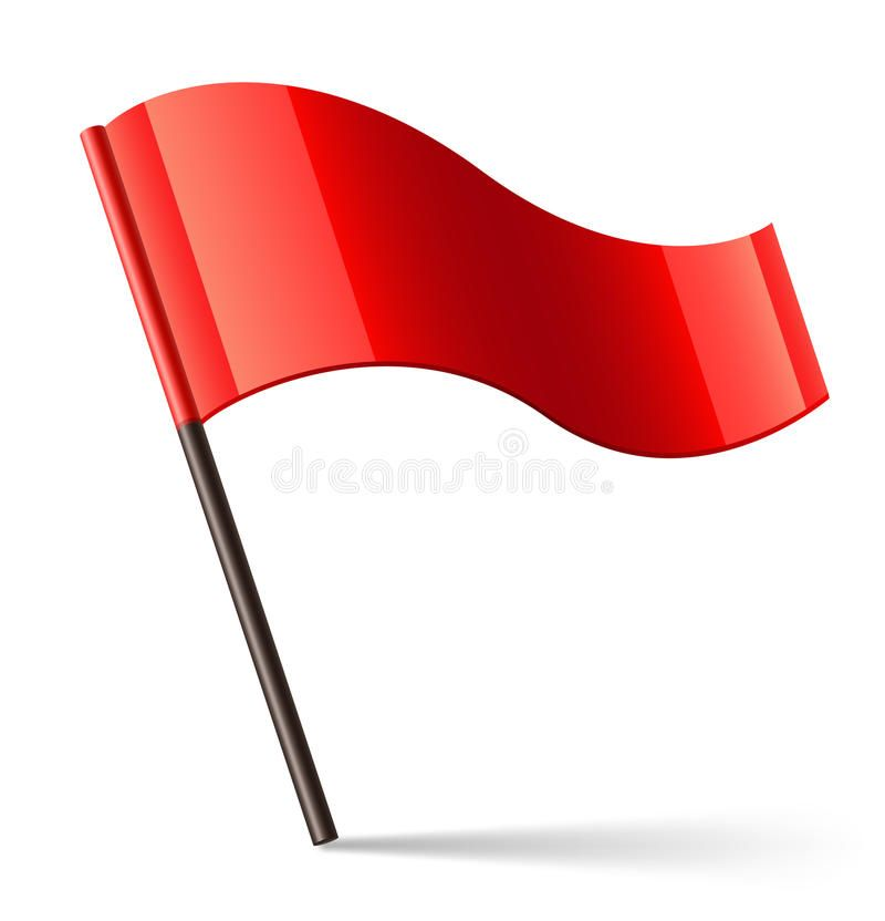 Vector Red Flag Icon Red Flag Icon Vector Illustration Sponsored Flag Red Vector Href Illustration Ad Flag Icon Red Flag Flag