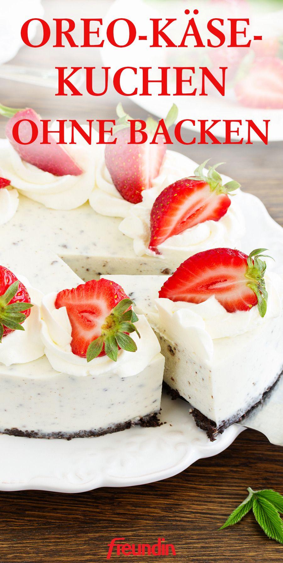 Kuchen Ohne Backen Oreo Kase Kuchen Backen Kuchen Kuchen Ohne