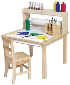 Creative Child Art Storage On Pinterest Kid Art Craft Tables