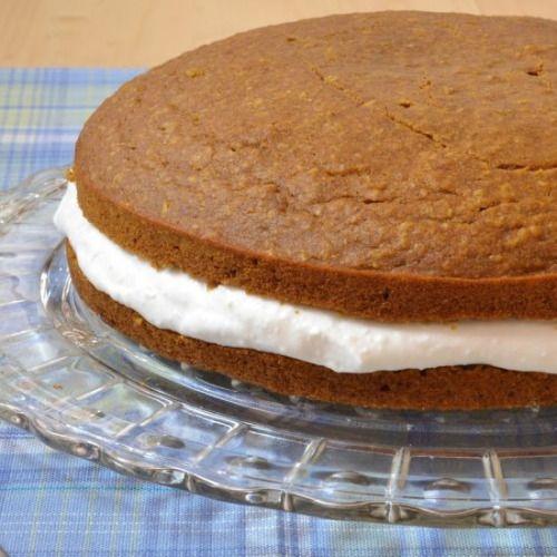 Vegan Pumpkin Whoopie Pie Cake-Get your hourly source of sweet...