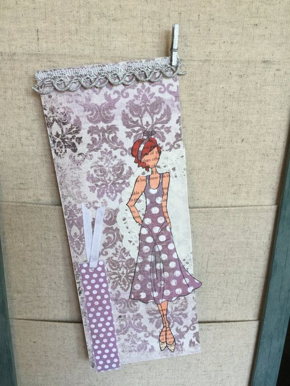 Lavender Ruby Tag by hsufly on Etsy
