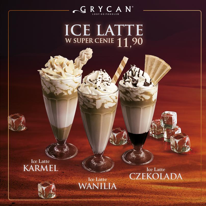 Ice Latte W Trzech Różnych Smakach! Idealne Na Upalny
