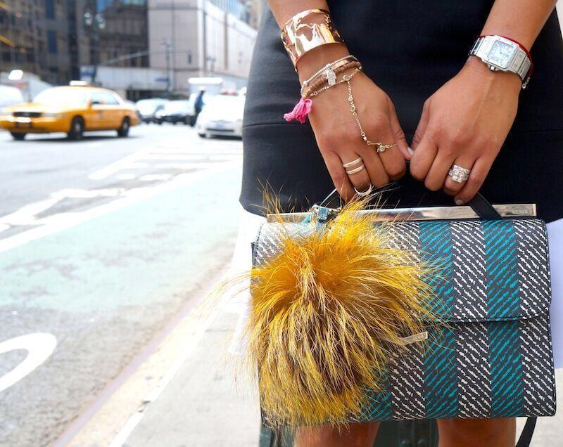 Kat Lebrasse using our World Cuff. // Cristina Ramella Jewelry